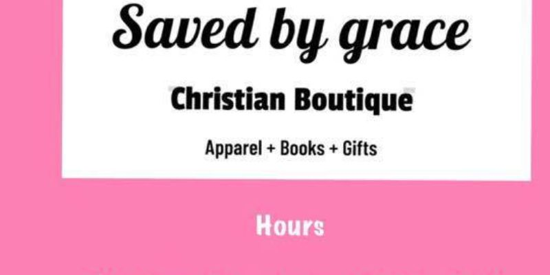 Saved By Grace Christian Boutique
